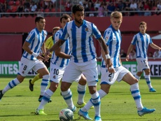 El Madrid fue a por Willian José. EFE