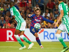 Barcelona stepped up in absence of Messi and Suarez, says two-goal Griezmann. EFE