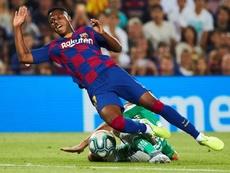 Todo era Neymar... hasta que llegó Ansu Fati. EFE/AlejandroGarcia