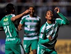 La Equidad festeja con goleada su regreso al Apertura. EFE/Yuri Edmundo/Archivo
