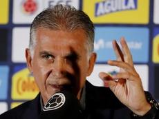 Queiroz, con calma en el progreso de Colombia. EFE
