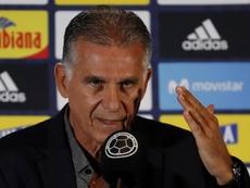 Carlos Queiroz habló sobre la derrota ante Argelia. EFE