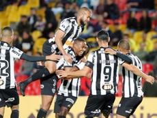Atlético Mineiro, a semifinales. EFE