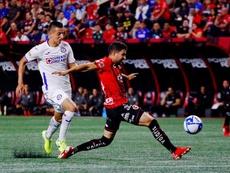 Alvarado admitió que sueña con LaLiga, la Premier o la Eredivisie. EFE/Alejandro Zepeda