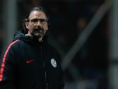 Pizzi é demitido. EFE/Juan Ignacio Roncoroni/Archivo