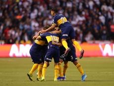 Boca se impuso por 0-2 a San Lorenzo. EFE/Archivo