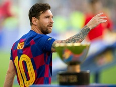 The big question for Barca is when Messi will return. EFE