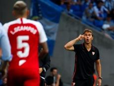 Casillas explicó que el próximo rival del Madrid llega en buen momento. EFE/Quique García