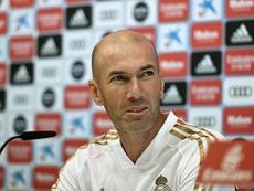 Zidane lanzó un mensaje de optimismo. EFE