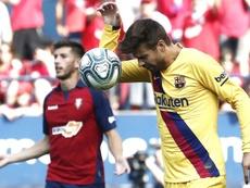 El Barça necesita mejorar en defensa. EFE