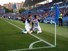 Joselu cree que el Alavés atraviesa un buen momento. EFE/Mariscal
