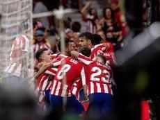 El Atlético recibe en casa al Celta, ambos vienen de perder en el último partido de Liga. EFE