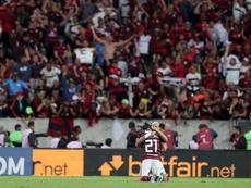Sao Paulo pincha y se aleja del liderato de Flamengo. EFE/Antonio Lacerda/Archivo