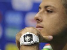 Ya hablan de la llegada de Chicharito en la MLS. EFE/Armando Babani