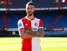 Senesi quitte San Lorenzo et s'engage avec Feyenoord. EFE/EPA/BAS CZERWINSKI