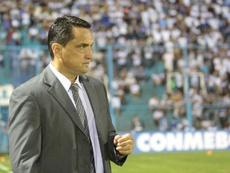 Aldo Bobadilla, satisfecho con el trabajo del equipo. EFE