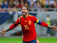 Ramos cree que no es el momento de jugar en Barcelona. EFE/Bogdan Cristel