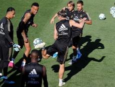 Bale, Modric e Lucas Vázquez estão fora contra o Mallorca. EFE