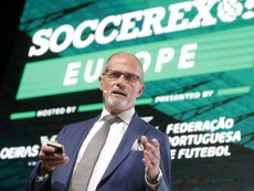 Las ligas europeas temen una tercera competición europea. EFE