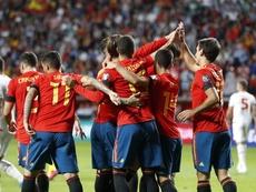 Suso y Unai Núñez destacaron la importancia del triunfo. EFE