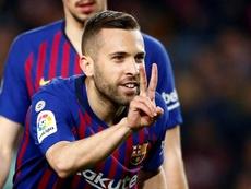 Ansu Fati, Jordi Alba back in Barcelona squad for Sevilla visit. EFE