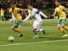 Cristiano balançou as redes quatros vezes. AFP