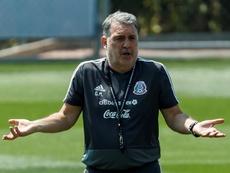 El 'Tata' le respondió a Herrera, que le culpó de la lesión de Ochoa. EFE