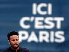 Neymar, impossible avec Dembélé. EFE
