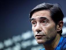 Marcelino pode assumir o Arsenal. EFE
