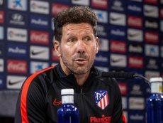 Simeone is satisfied with his current squad's progression. EFE