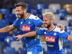 Mertens, demasiado para la Sampdoria. EFE