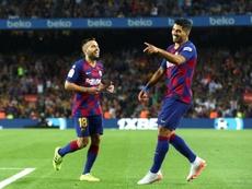 Un goleador insaciable. EFE/Enric Fontcuberta