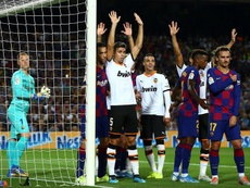 La préoccupation du Barça avant de sourire à nouveau. EFE