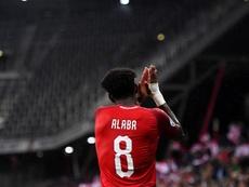 Alaba pode pintar no Bernabéu. EFE