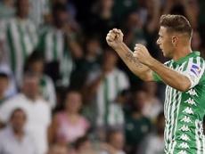 Joaquín destacó la actitud de su equipo con uno menos. EFE/Jose Manuel Vidal