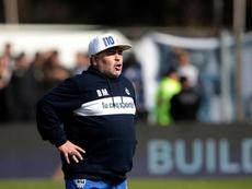 La cronología de la etapa de Maradona en Gimnasia. EFE
