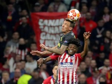 Thomas hopes to be ready to help Atletico stop Ronaldo and his team. EFE