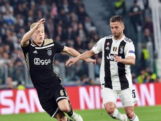 Pjanic poderá estar na Champions. EFE/EPA/Andrea Di Marco