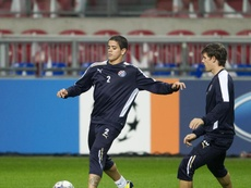 Luis Ibanez signe en Bosnie !. EFE/Olaf Kraak/Archivo