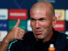 Zidane habló antes del choque en París. EFE