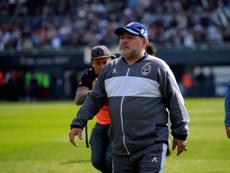 El once con el que Maradona buscará su primer triunfo. EFE