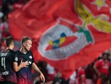 El RB Leipzig gana en Lisboa. EFE