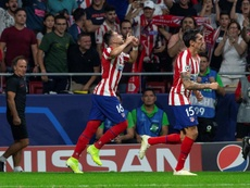 Mexican midfielder Hector Herrera crashed home Atletico Madrid's leveller to snatch a late point