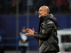 It is always diving - Guardiola hits out at VAR. EFE