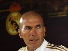 Zidane acredita que pode virar o jogo. EFE