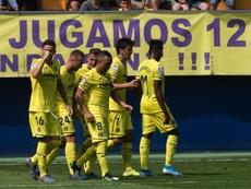 El Villarreal se impuso al final. EFE