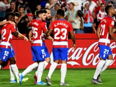 Granada have got off to the best start in their history. EFE