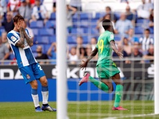 Isak se plaint de sa note sur FIFA 20. EFE/Alberto Estévez