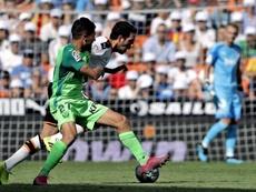 Óscar Rodríguez suma trece remates en Liga. EFE