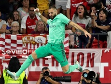 Benzema sees a clear improvement in Madrid. EFE